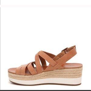 Lucky Brand Shoes - Lucky Brand Jokepa Wedge Sandal Size 8 1/2